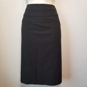 Black Pencil Skirt/ Size 4